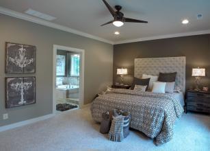 HarryTrumanCraftsman bedroom BW