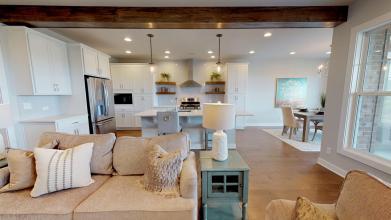 StanfordC 3rdBayGarage living room kitchen