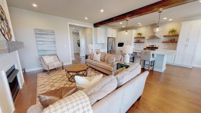 StanfordC 3rdBayGarage living room kitchen 2